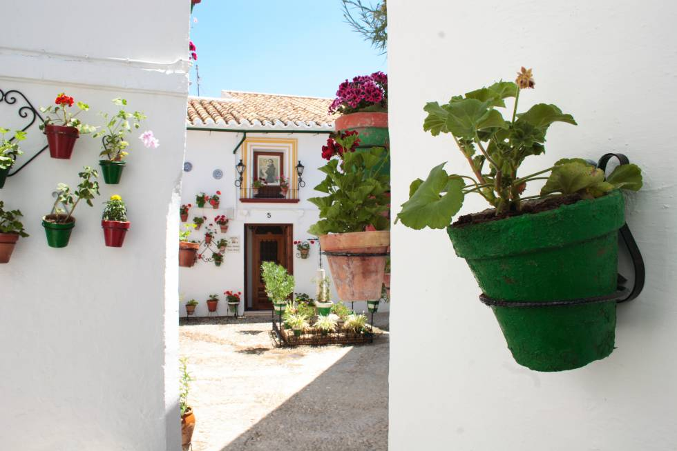 Barrio de La Villa de Priego de Córdoba, esencia de la arquitectura popular andaluza.