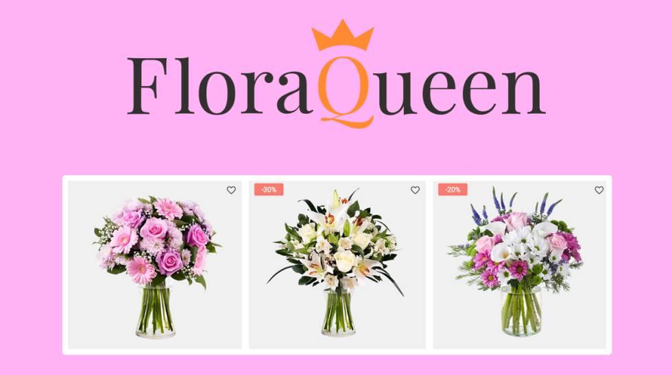 Tres floristerías online que entregan el Día de la Madre