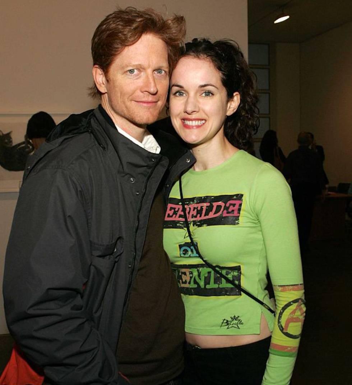 Eric Stolz con Bernadette Moley en una fiesta en Nueva York en 2005.