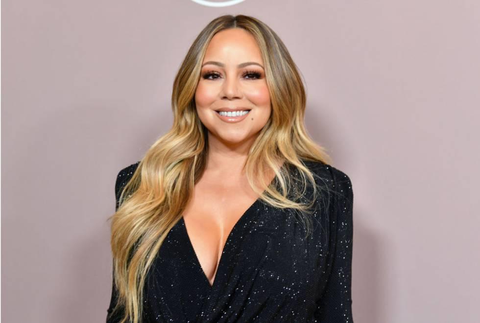 Mariah Carey en una fiesta en Los Ángeles en 2019.