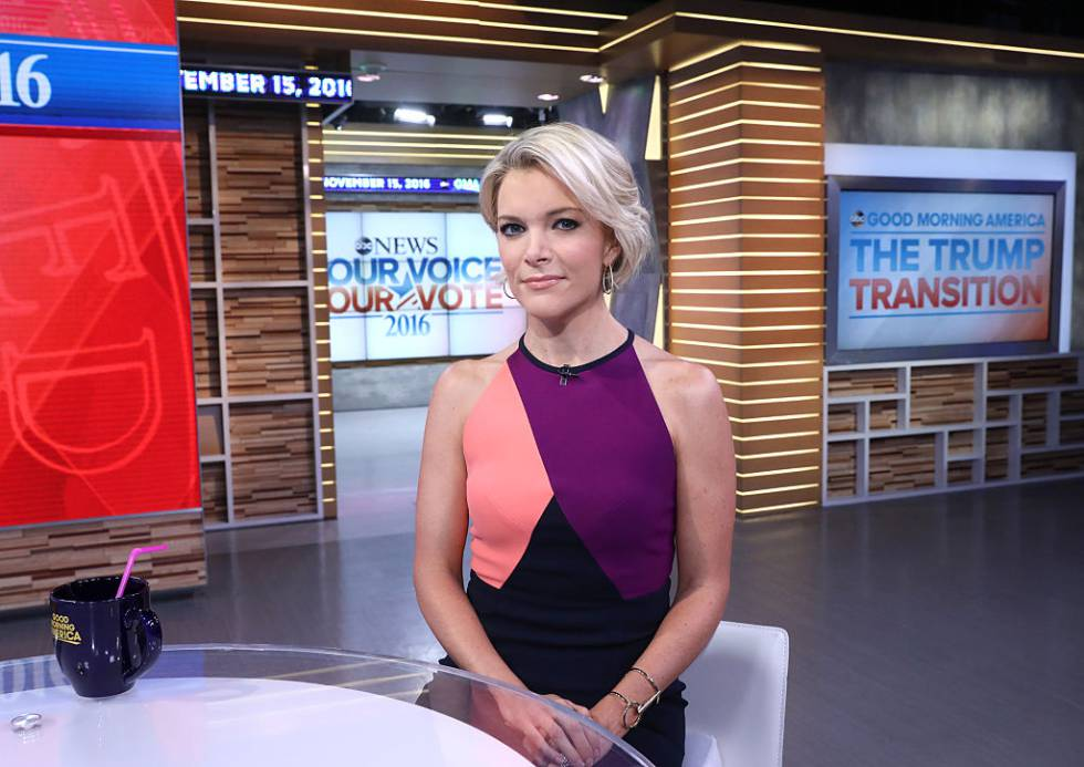 Megyn Kelly durante una aparición en el programa 'Good Morning America' en 2016.
