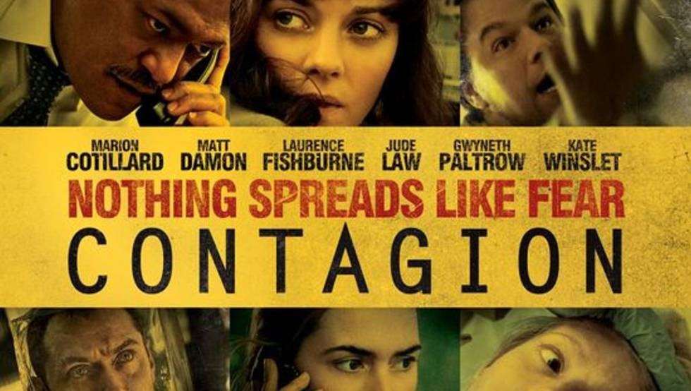 Póster de la película 'Contagio'.