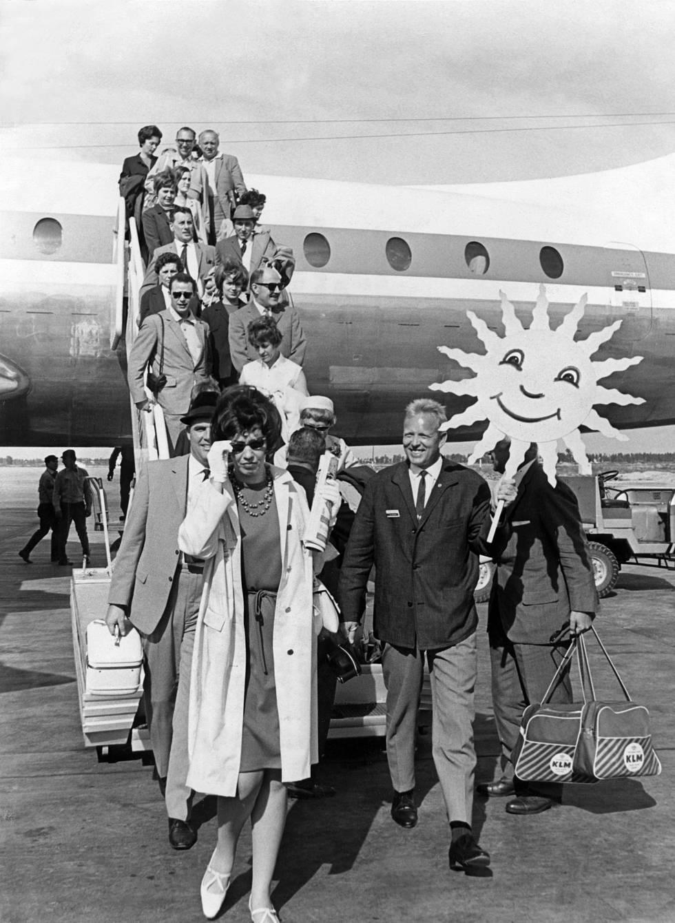 Un grupo de noventa y cinco alemanes llegan a Barcelona en 1960. El turismo puede volver a parecerse, en gran medida, a eso: turismo de proximidad, vuelos más caros.