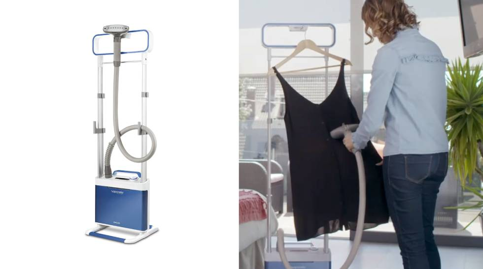 We analyze three vertical ironing centers to use at home