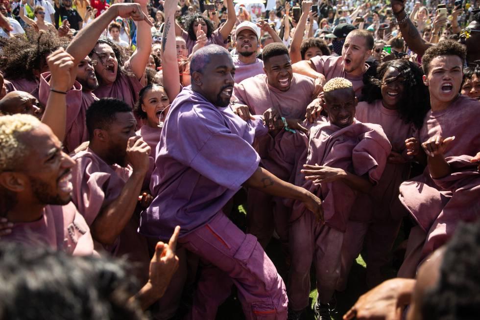 ¡Borra eso! ¡No publiques! Eso le grita su gente a Kanye West, pero él raramente hace caso.