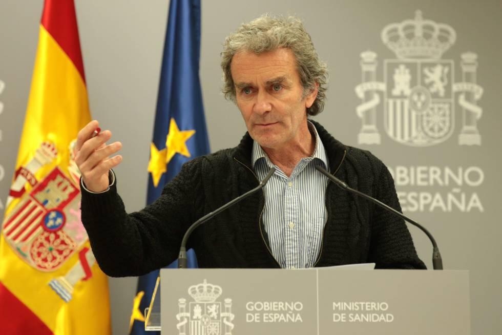 Fernando Simón el pasado 11 de marzo.