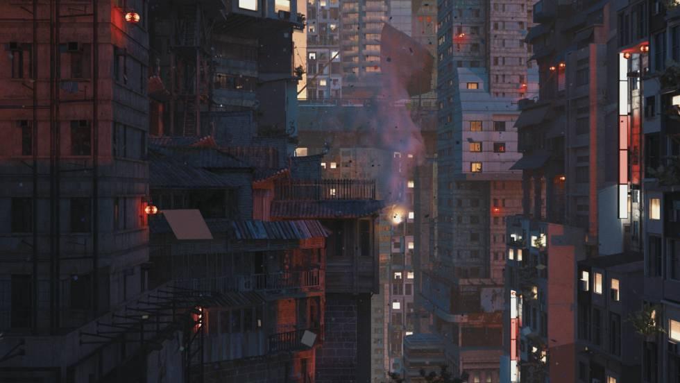 liam young ciudades futuro