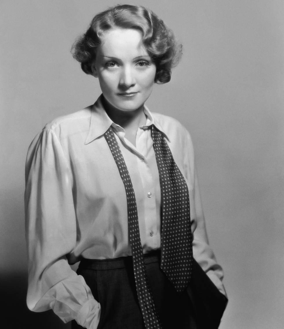 Marlene Dietrich en 1932.