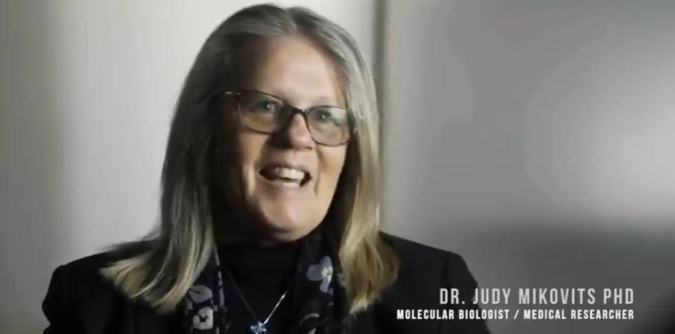 Judy Mikovits, en 'Plandemic'.