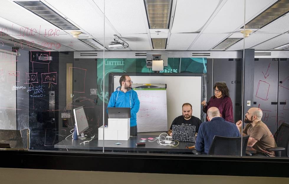 Miembros del equipo cuántico de IBM.