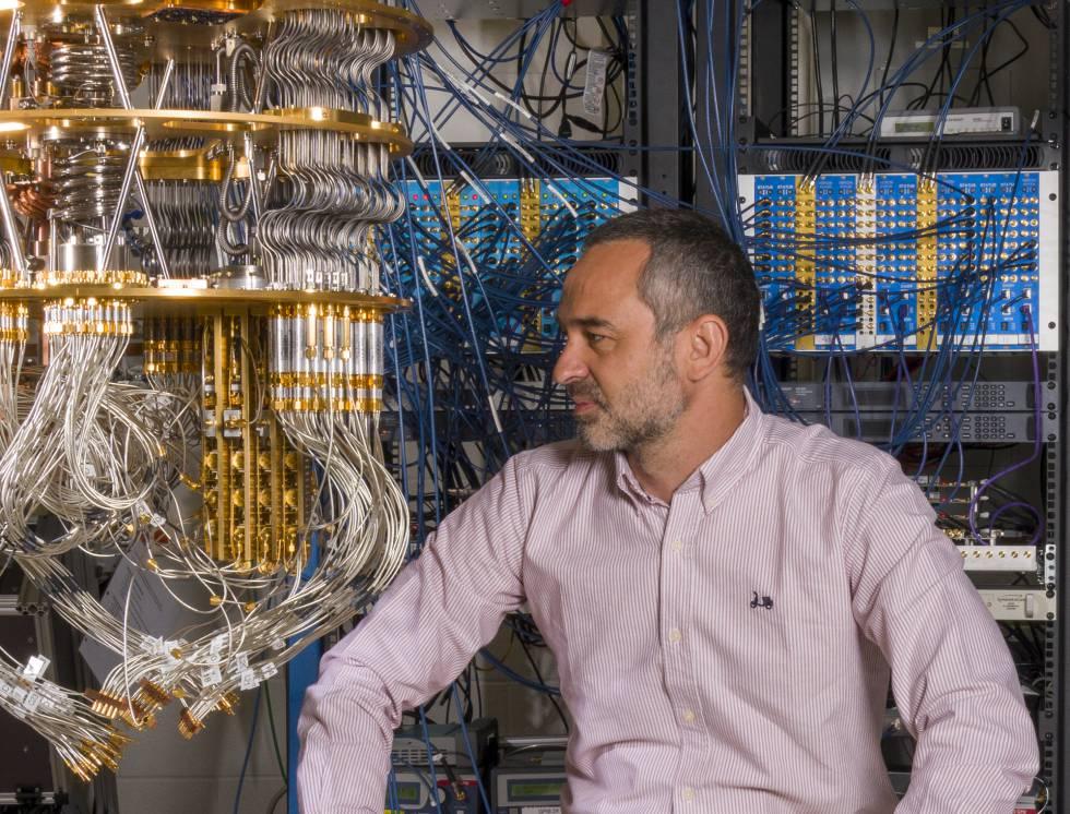 Sergio Boixo, jefe científico de teoría de la computación cuántica de Google.