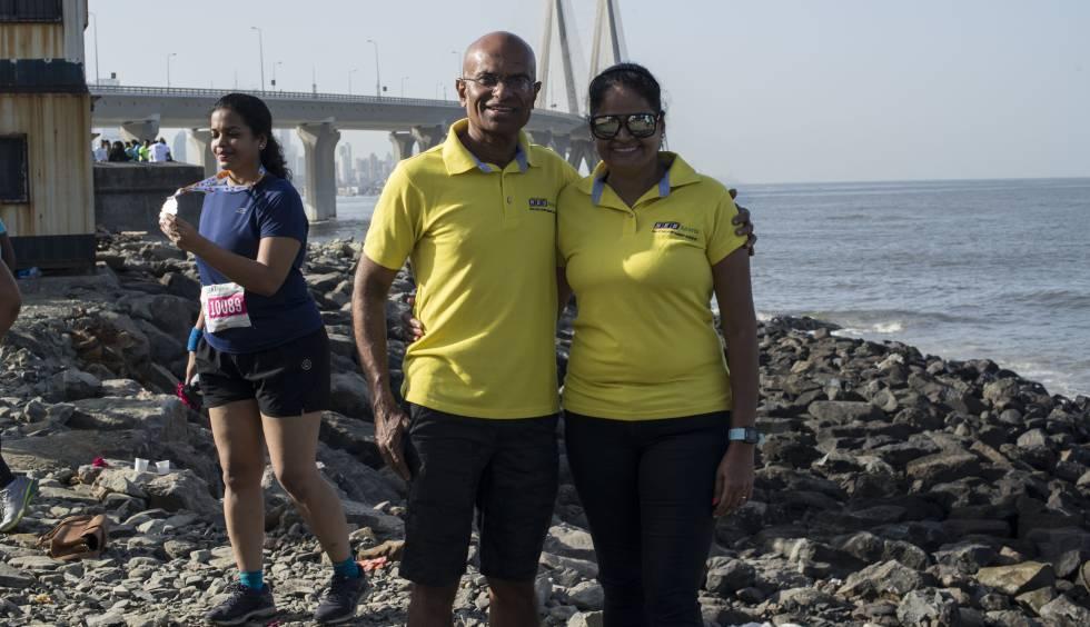 "Sangeeta y Sunil Shetty son un matrimonio indio, apodado por la prensa como la ""ultra pareja"", por sus récords acumulados en ultra maratones de hasta 100 kilómetros."