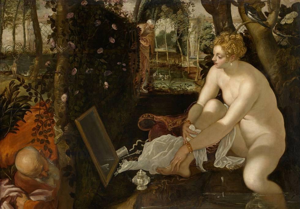 'Susana y los viejos', de Tintoretto.