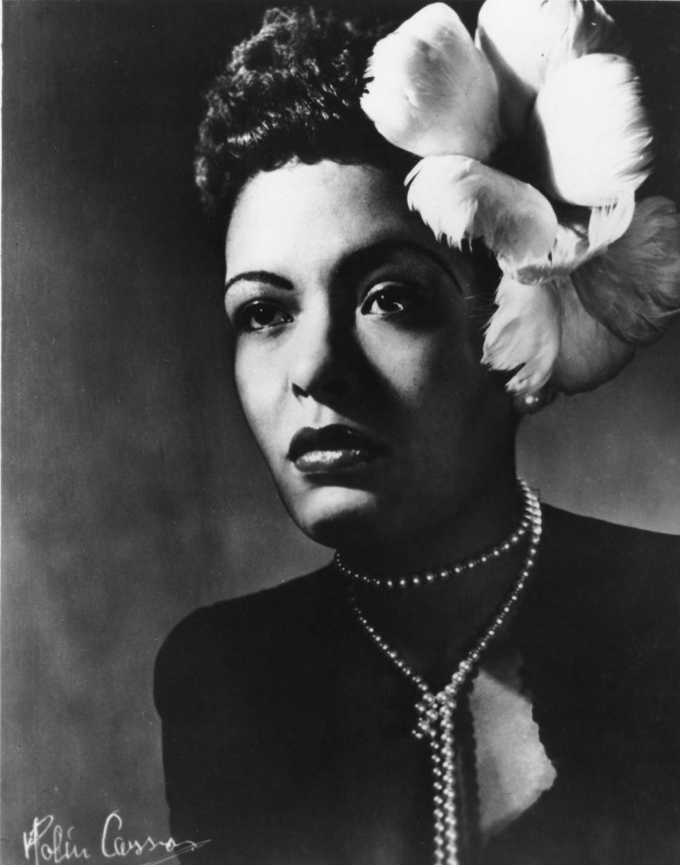 Billie Holiday em 1943.