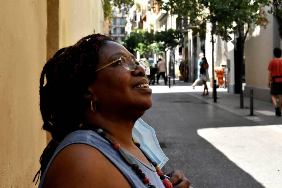 Remei Sipi nació en Guinea Ecuatorial en 1952, pero vive en Barcelona desde los 20 años.