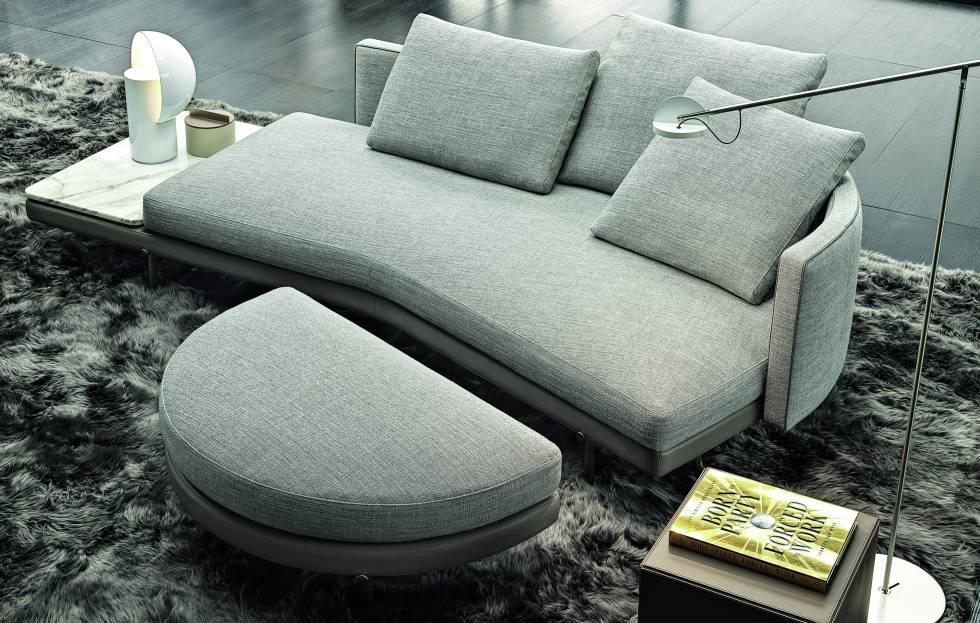 Los asientos modulares Torii juegan con volúmenes de bordes redondos, perfiles delgados y la aparente simplicidad formal de un diseño extremadamente detallado.