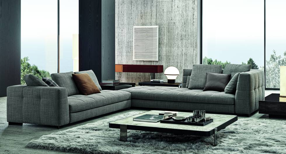 La característica clave del diseño es el respaldo con esquinas internas redondeadas, cómodo y envolvente.