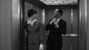 Jack y Shirley en lo que vendría siendo 'la película'.