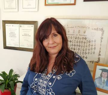 La psicóloga Olga Carmona, experta en altas capacidades y coautora del libro 'El genio que llevas dentro'.