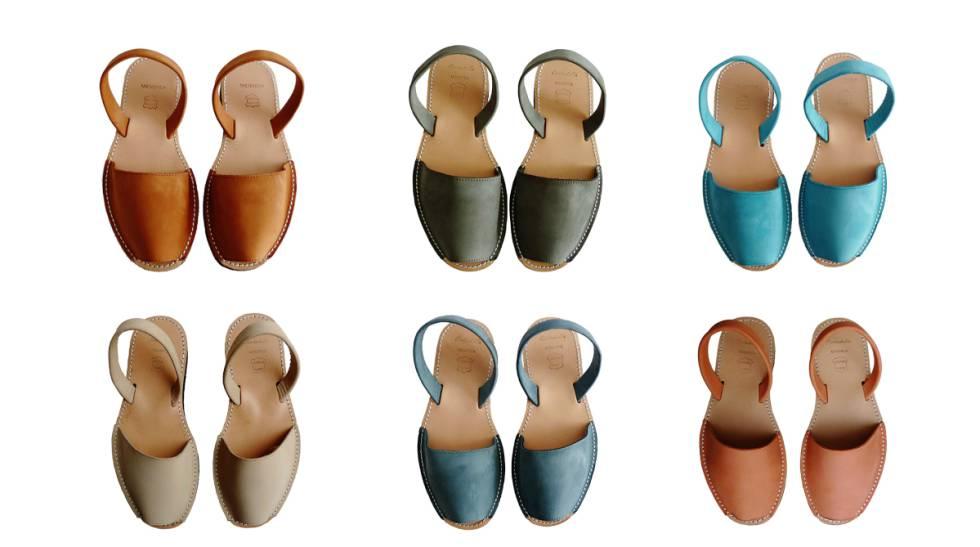 De piel y cosidas a mano: las menorquinas que puedes conseguir en Amazon en ocho colores muy veraniegos