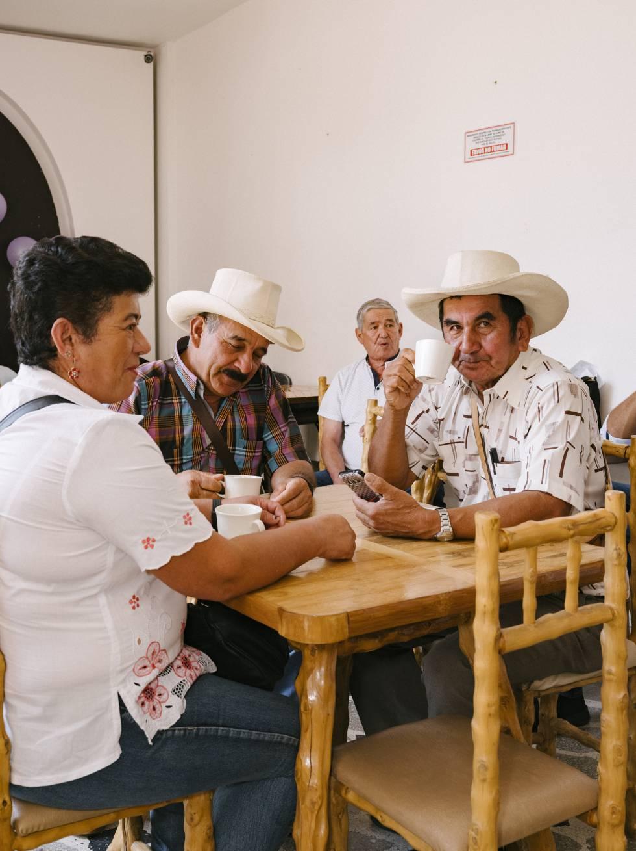 Los habitantes del municipio de Pitalito disfrutan de muchos puntos de venta de cafés especiales de la región como este, la tienda Boscafé.
