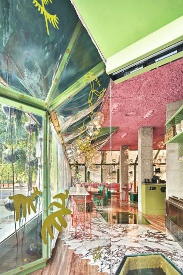 Proyecto para el restaurante madrileño Run Run Run, ganador del Premio FAD Interiorismo 2020.