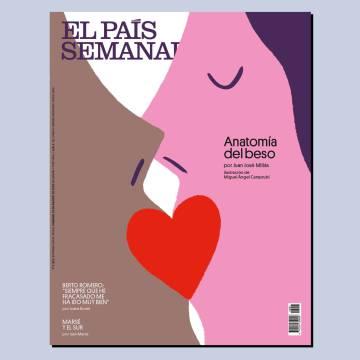 Anatomía del beso, este domingo, en 'El País Semanal'