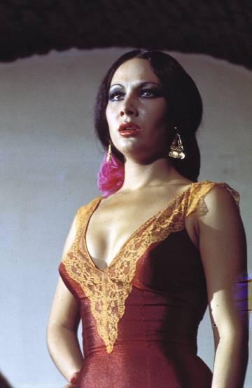 La madrileña Sara Lezana, actriz y bailaora, protagonizó en 1963 la película 'Los tarantos'.