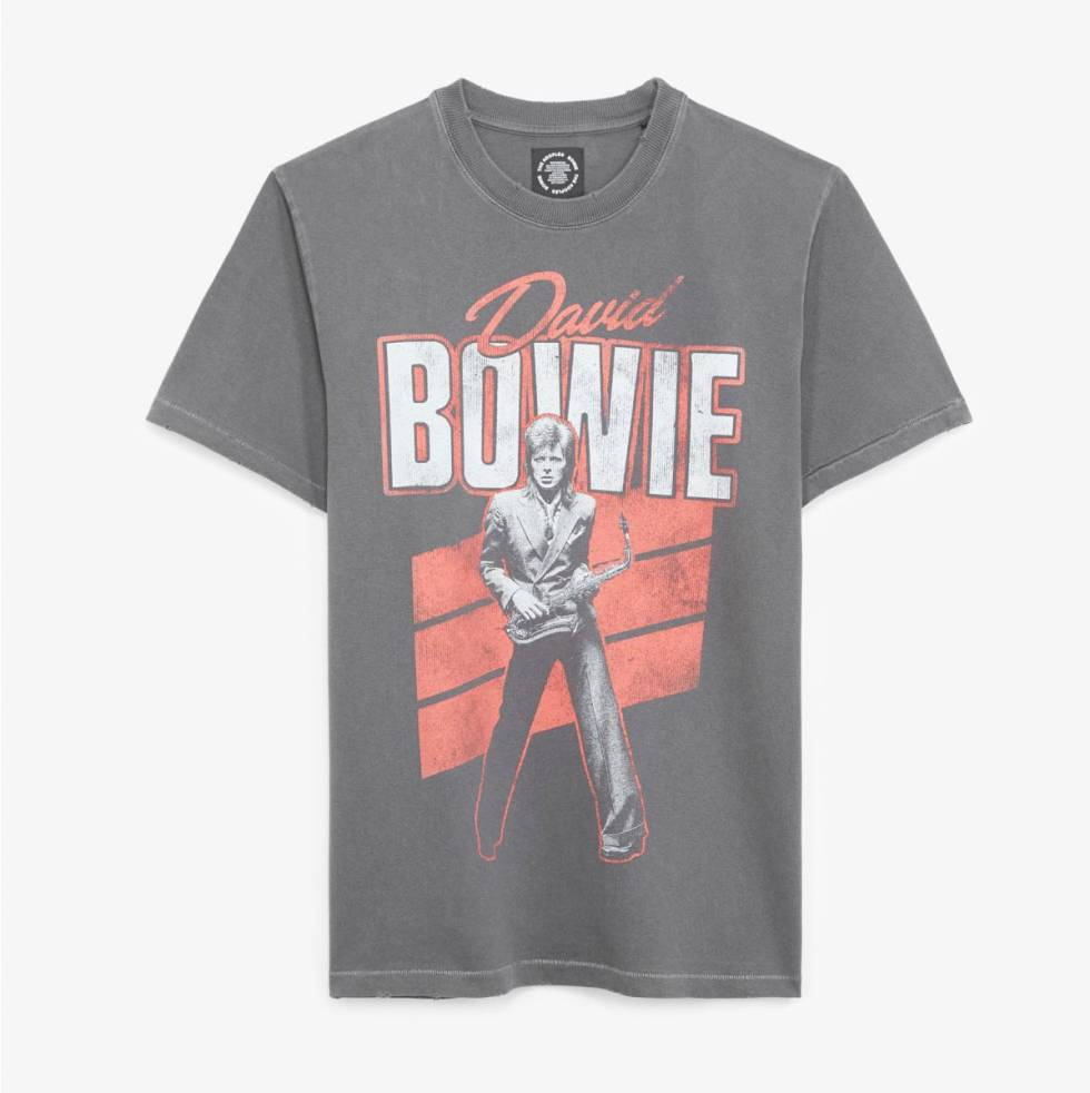Camiseta Bowie.