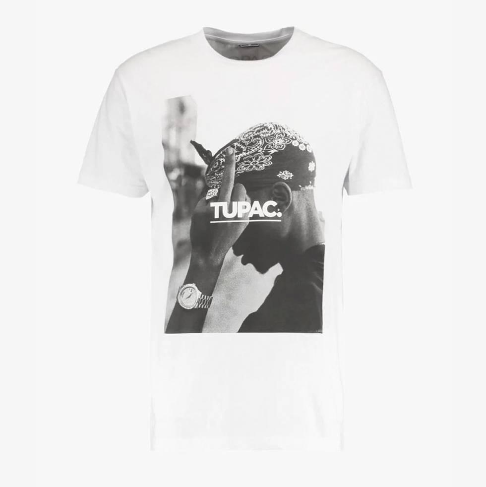 Camiseta Tupac.