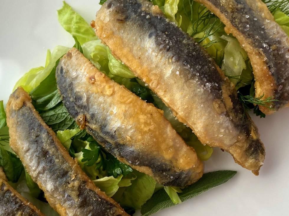 Lomos de sardinas en adobo. J.C. CAPEL