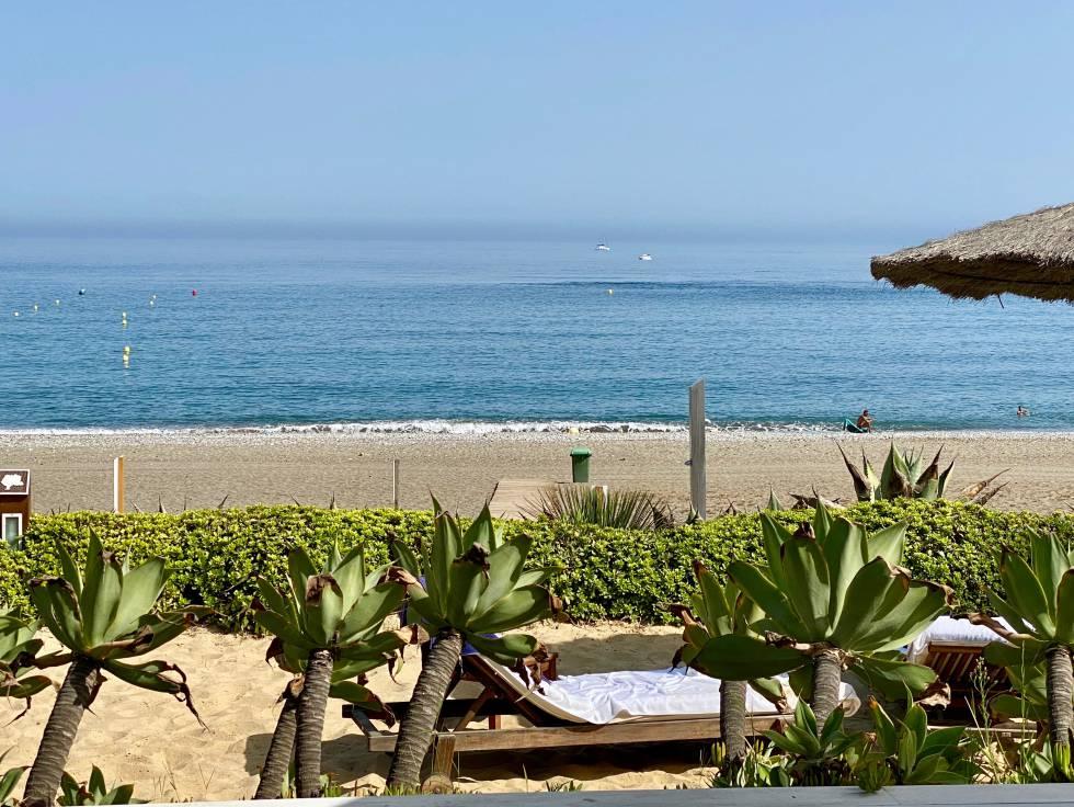 Vista desde el Playa Club. J.C. CAPEL