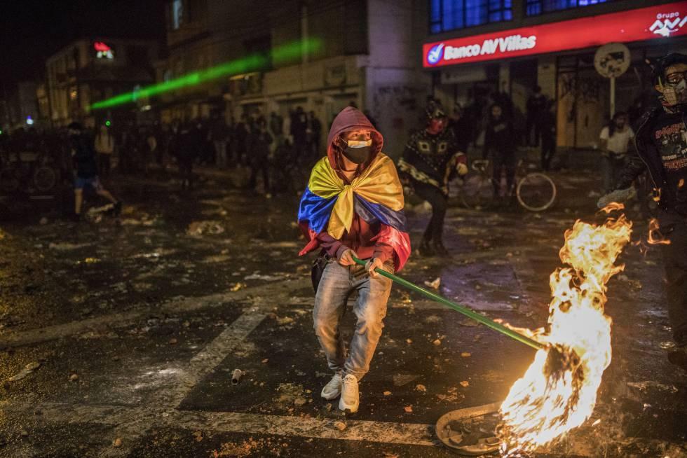 Fotos: Bogotá tras la muerte de Javier Ordóñez | Internacional | EL PAÍS