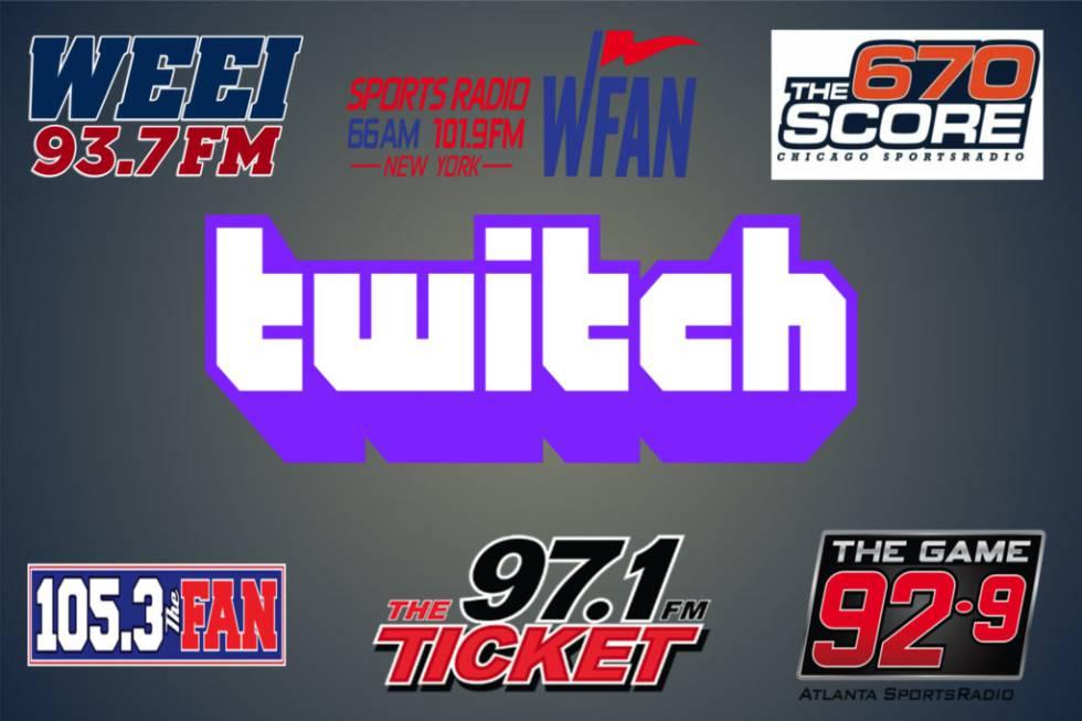 Acuerdo entre Twitch y las seis emisoras de Entercom.