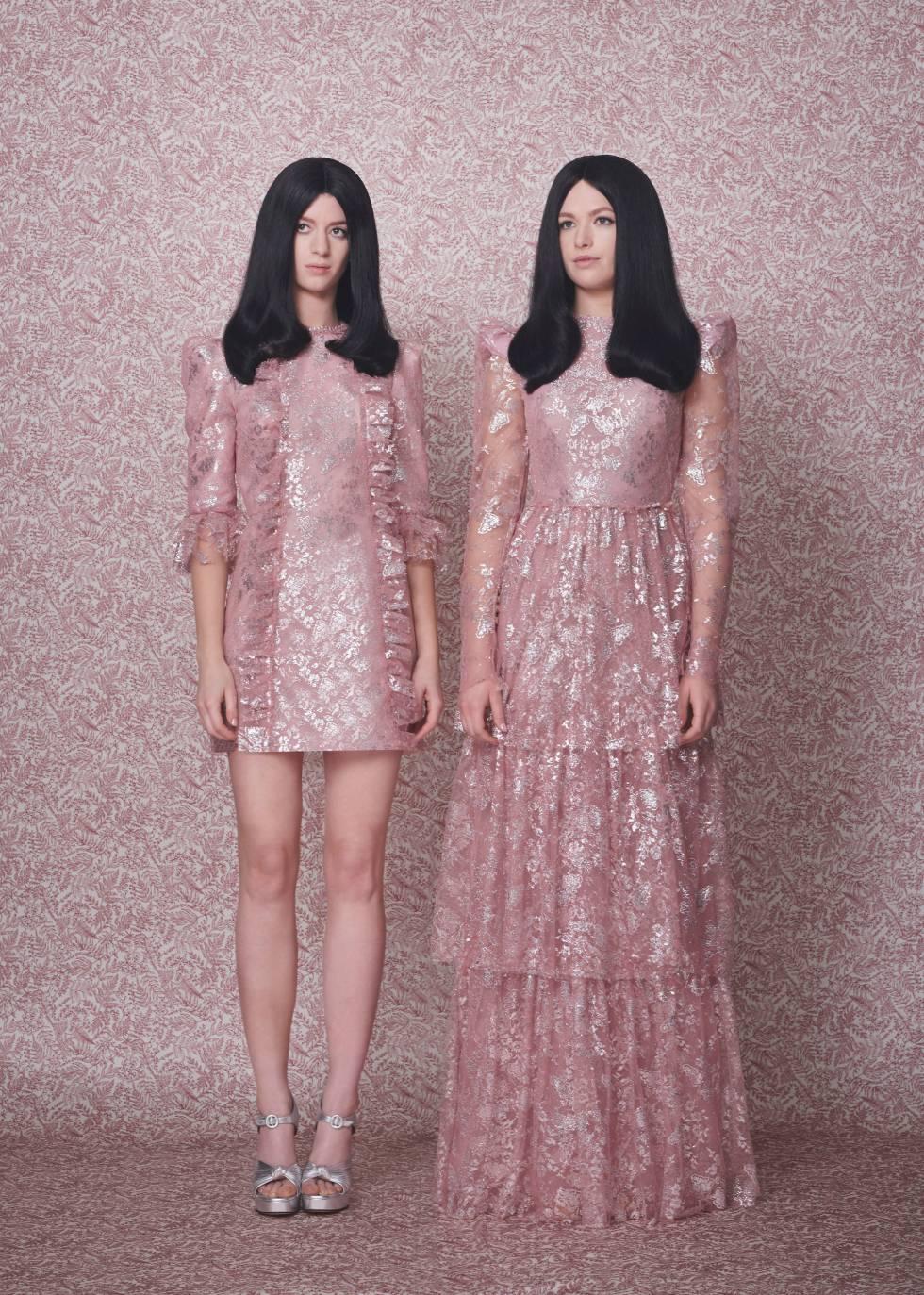 Diseños de The Vampire's Wife, la firma de Susie Cave: vestidos The Love Letter y The Unrequited.