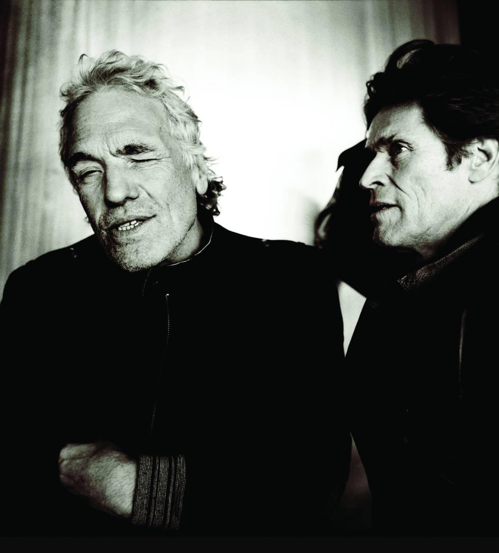 Abel Ferrara con el actor Willem Dafoe, que da vida a una especie de trasunto suyo en 'Tommaso'.