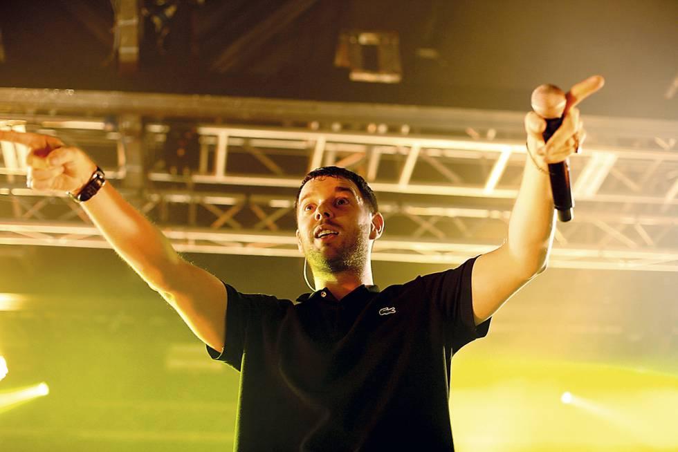 El líder de la banda britanica en la versión inglesa de 'OT' en 2011.