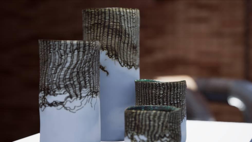 'Cu', de Álvaro Catalán de Ocón, colección de piezas creadas en cerámica y cobre.