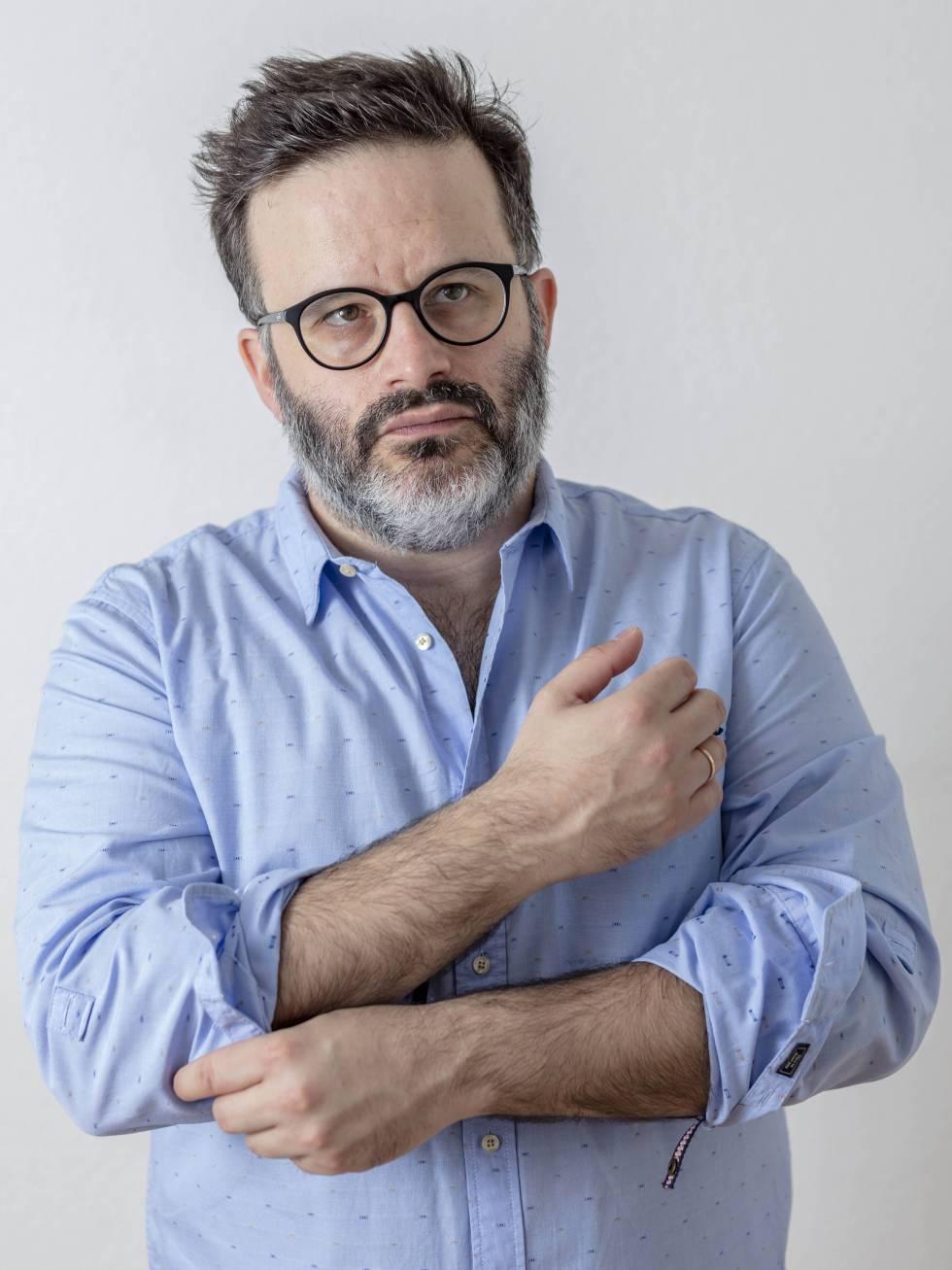 El escritor Edu Galán, autor de 'El síndrome Woody Allen. Por qué Woody Allen ha pasado de ser inocente a culpable en diez años'.
