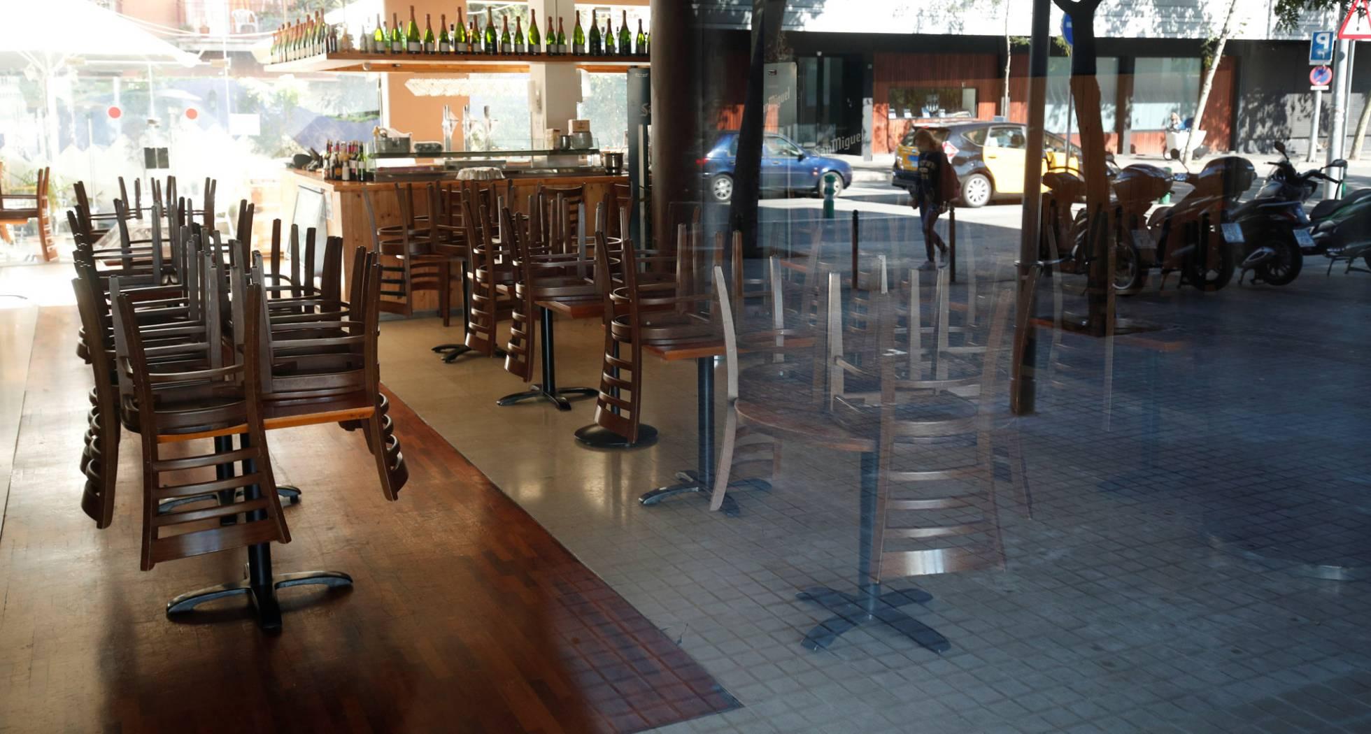 Cataluña anuncia el cierre de bares y restaurantes durante 15 días por el coronavirus