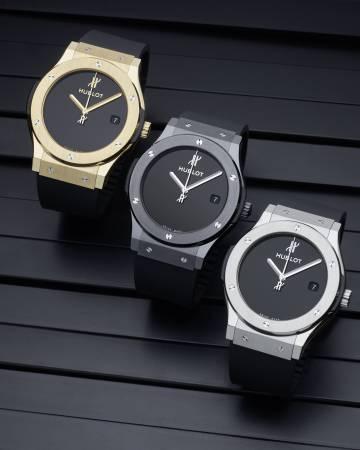Classic Fusion 40 years anniversary en sus tres modelos: oro, titanio y cerámica.
