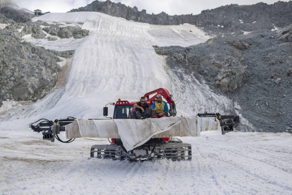 En el sur de Europa solo hay glaciares en el Pirineo francés y aragonés. Los que quedan están sentenciados: desaparecerán en 30 años.