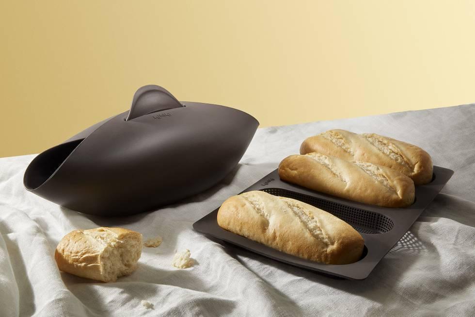 El olor del pan recién horneado
