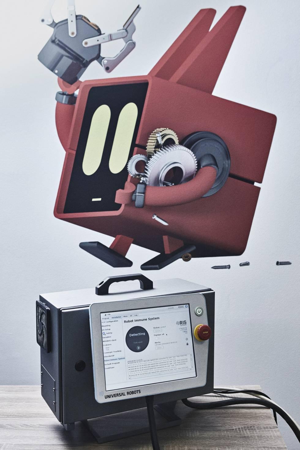 El Sistema Inmunológico de Robots, en la sede de Alias Robotics.