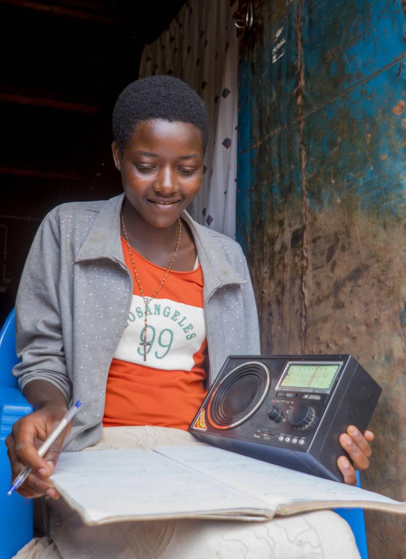 Educación por radio en Malawi