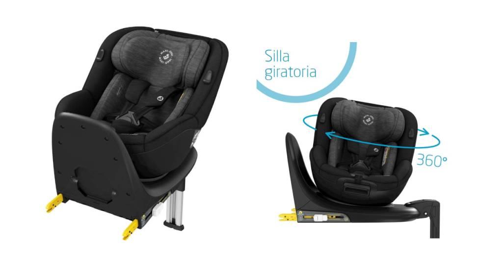 Ocho sillas infantiles para el coche que se pueden comprar 'online' y que aprueban el informe del RACE