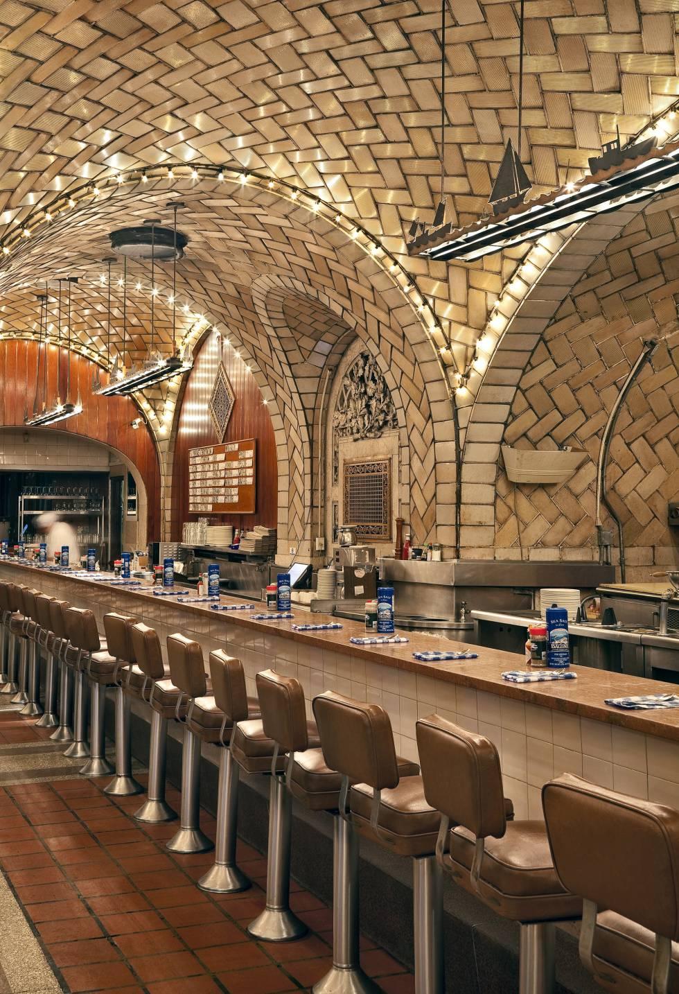 El Oyster Bar de la Grand Central Station de Nueva York.