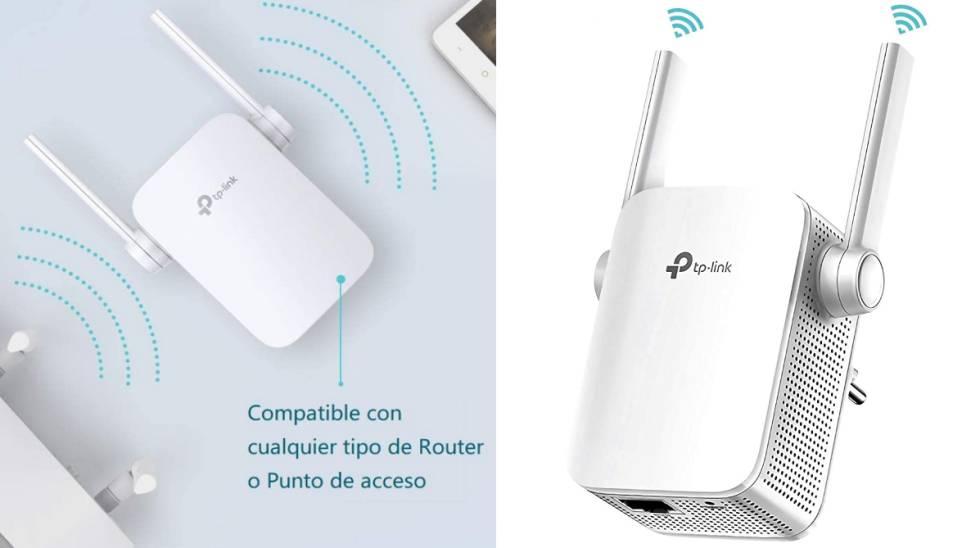 Repetidor y amplificador Wi-Fi TP- Link amazon