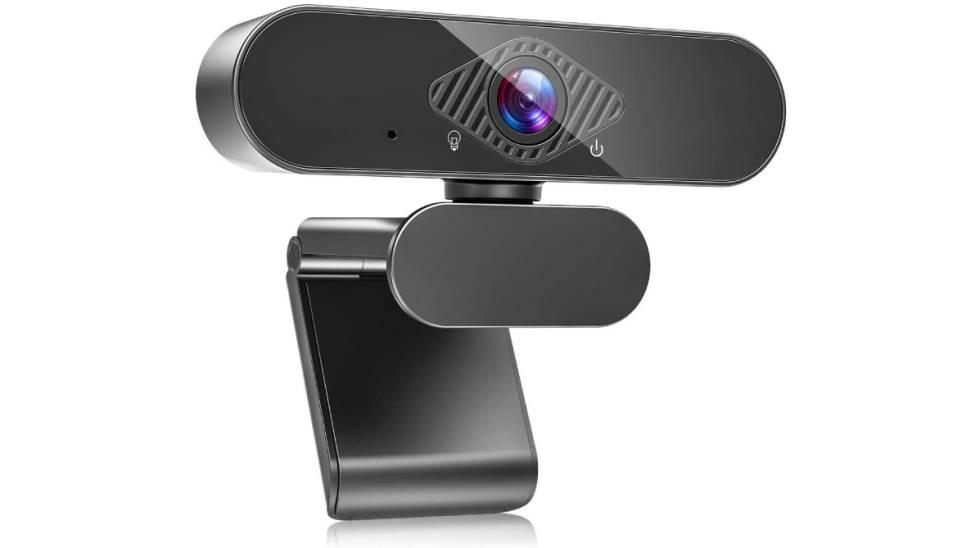 Webcam con micrófono y resolución Full HD Amazon