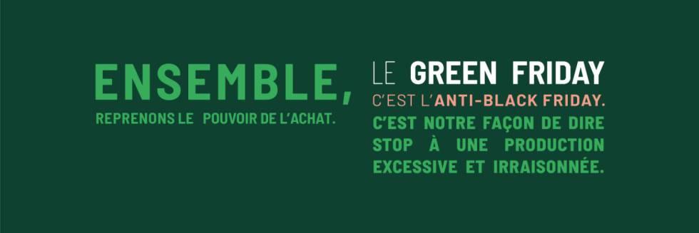 El Green Friday hace un llamamiento para que